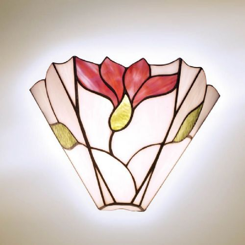 Botanica Wall Light (Mackintosh, Nature, Wall Lamp) S07W (Tiffany style)